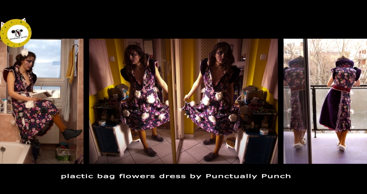 plasticbagflowers_dress
