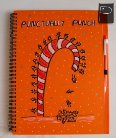 xmas_handdrawn_unique_pattern_notebook_recycled_9_candy_cane