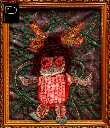 road_girl_wall_picture_unique_3d_embroidery_3